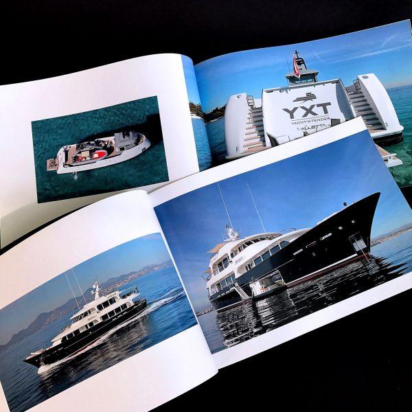 Company profile extra size 34 x 23, brossura cucita, 200 pcs