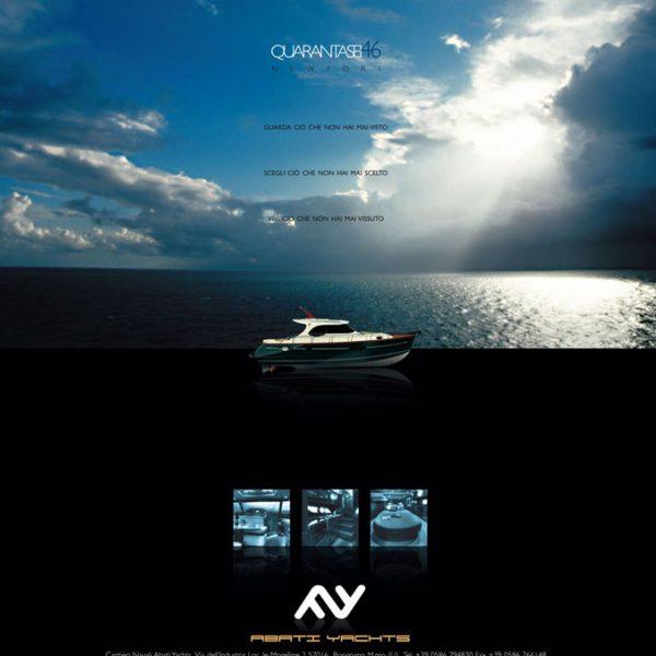 Creatività pagina ADV su rivista di settore ( concept, ritocchi cromatici e scontorni immagini, prove cromatiche ed esecutivi)
