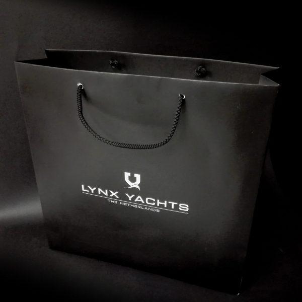 Shopper in carta plastificata, 100 pcs