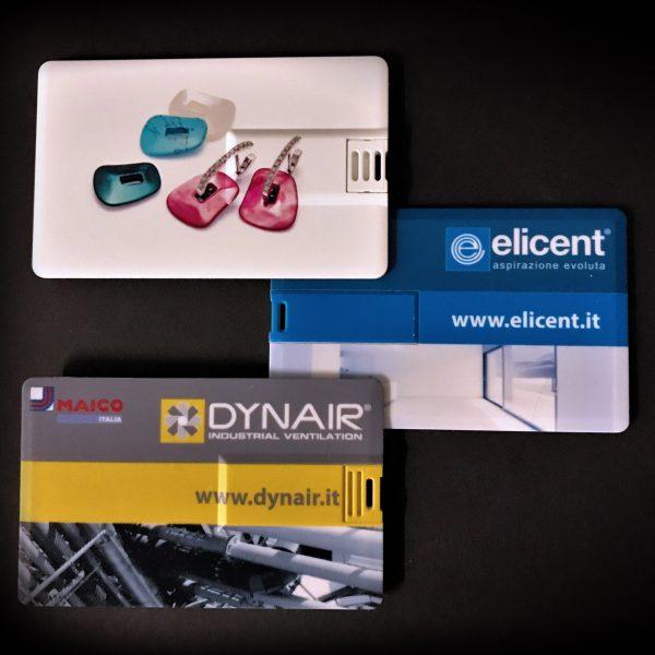 USB card stampate 4 colori, 200 pcs